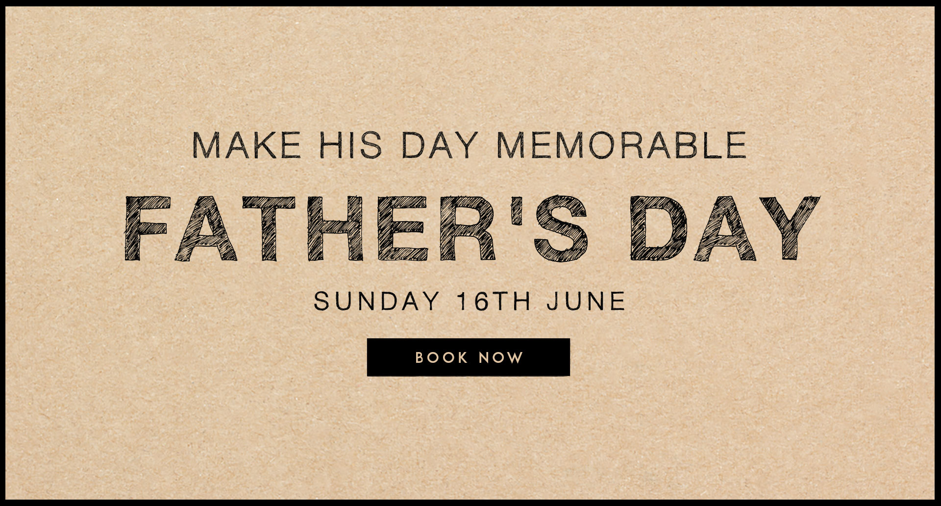 Fathers Day at The Hope & Bear
